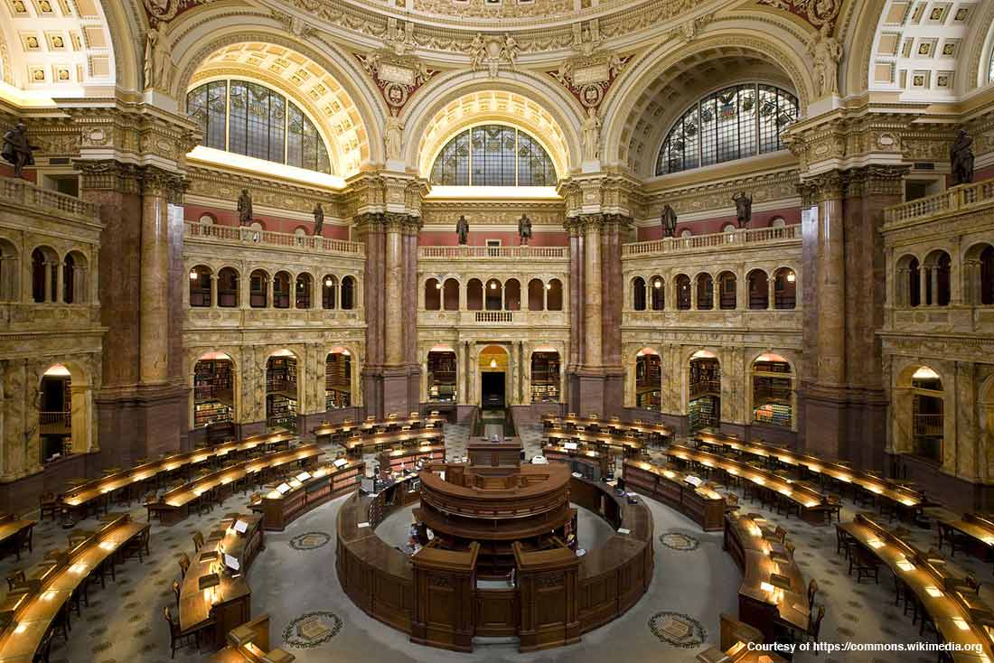 Library of Congress—Main Reading Room